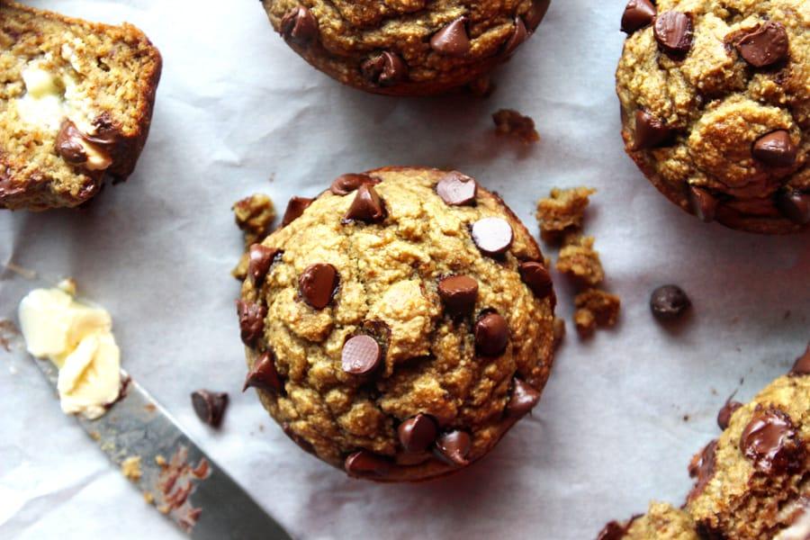 5 Ingredient Banana Bread Muffins